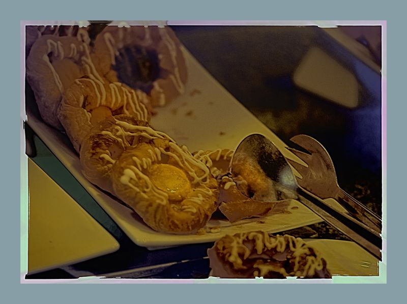 sweet rolls  . . .