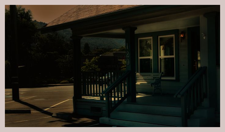 the porch   . . .