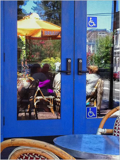 sidewalk dining   . . .