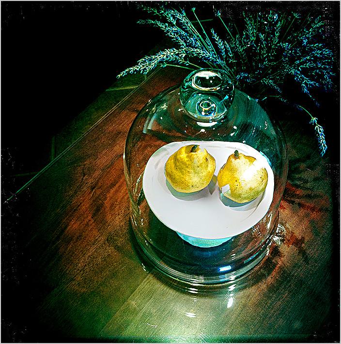 lavender & pears   . . .