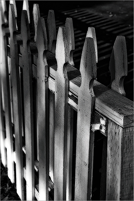 picket fence   . . .