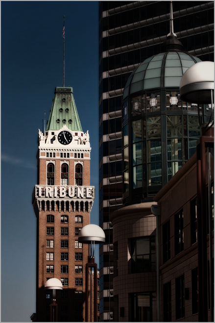 oakland tribune building . . .