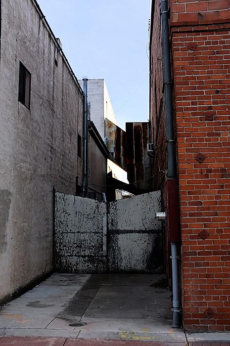 blind alley   . . .