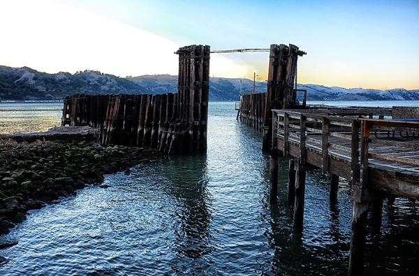 ferry pier   . . .