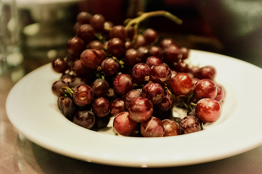grapes : dieter's grace