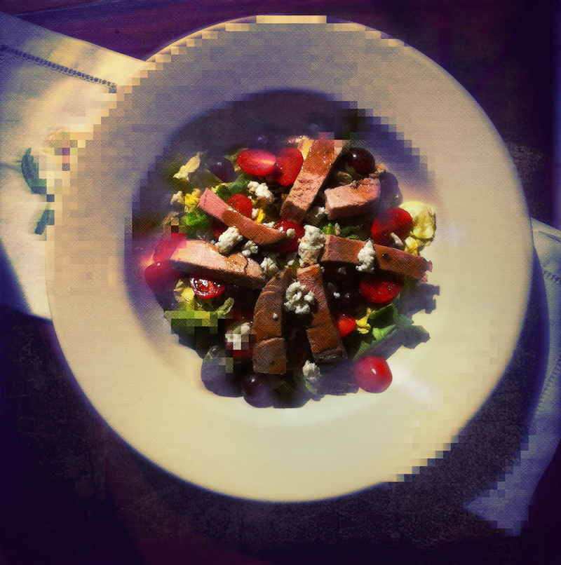 snazzy salad   . . .