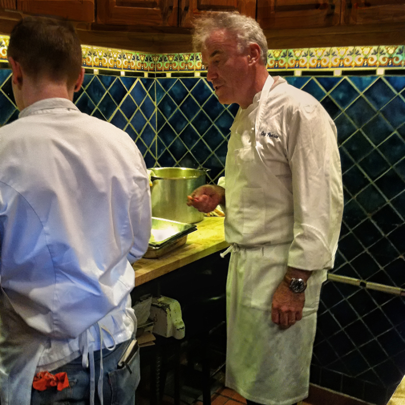 chef at chez panisse