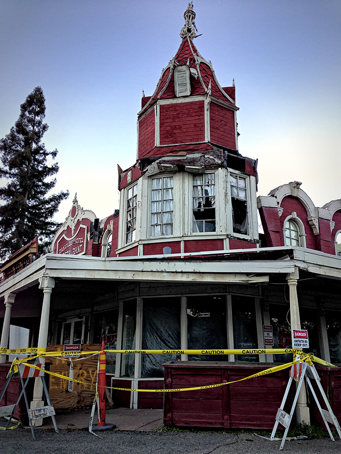 last days of the old Danville Hotel