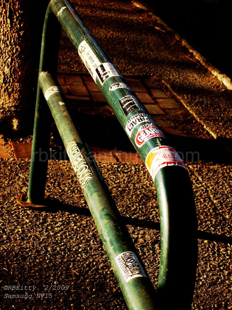 Urban Sticker Bike Rack