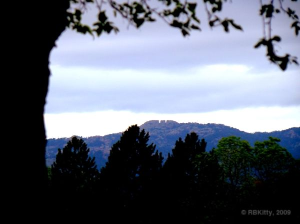 Horsetooth Rock from Ft Collins