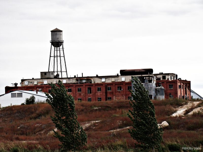 Abandoned Sugar Beet Factory in Eaton CO