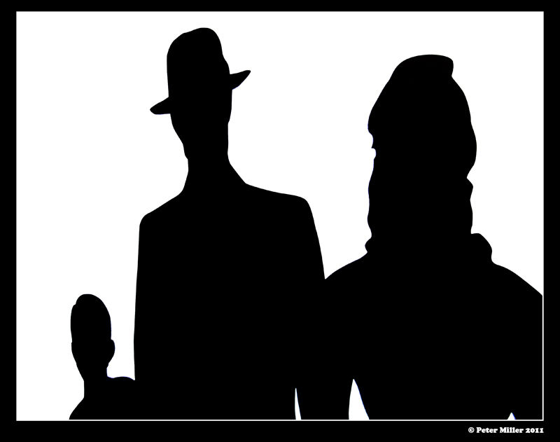 fourties silhouette