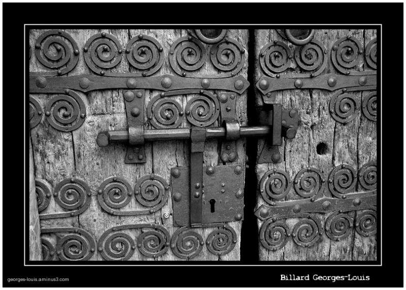 Porte d'église