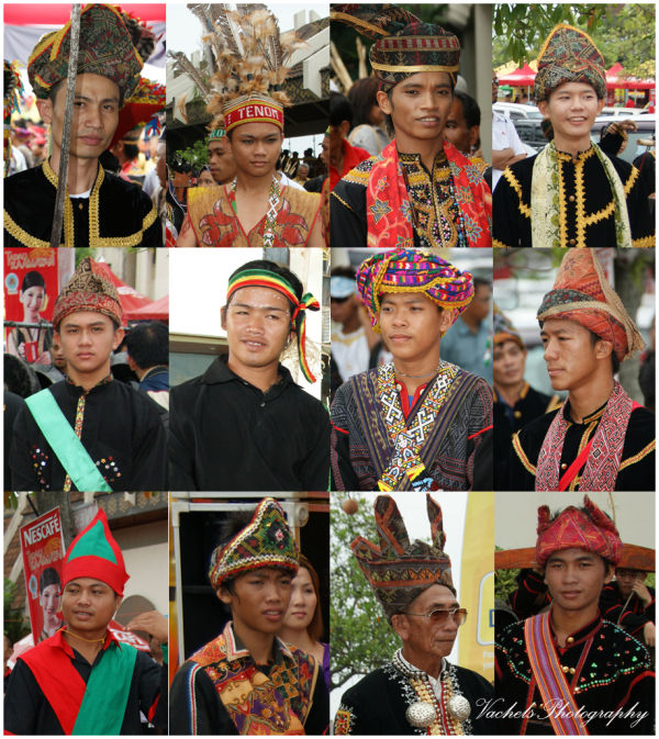 different ethnic around Sabah (male)