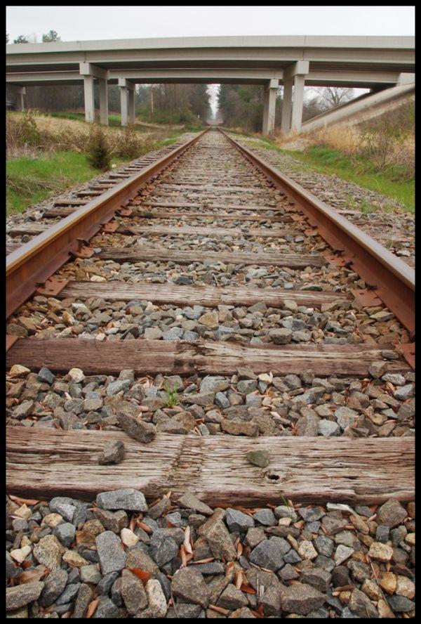 Railroad, Train, Bridge, Rail, Track