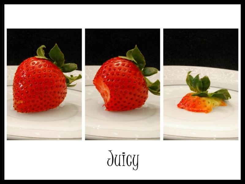 Strawberry, Juicy, Fruit,