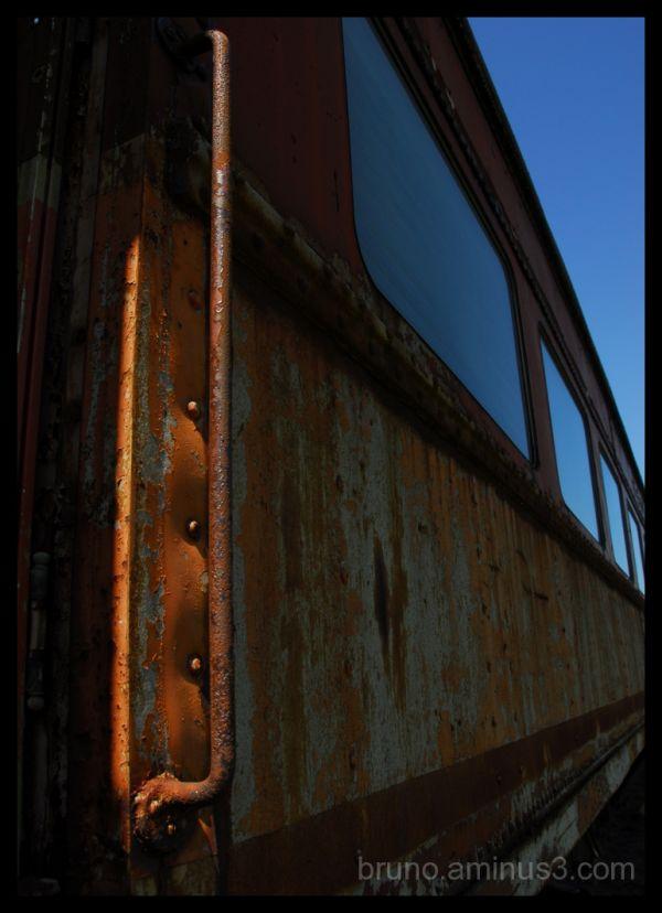 Old, train, Rust, Trainyard