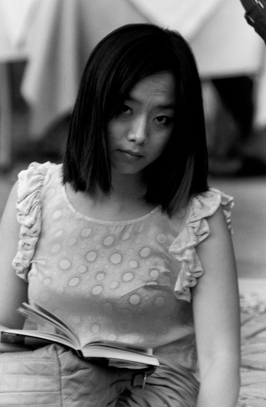 Asiatin asiatisches Portrait