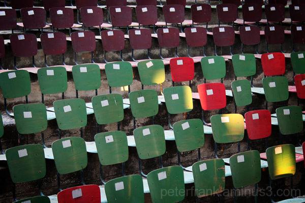 abstract, green, light, chair