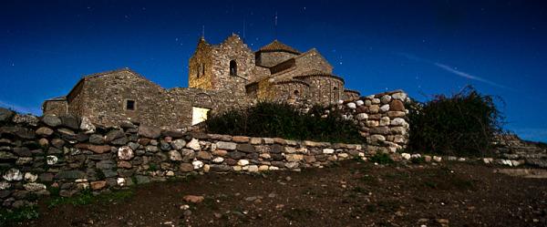 Monestir romànic de La Mola, Sant Llorenç del Munt