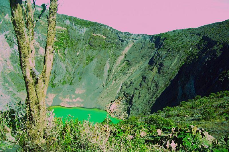 Irazu Volcano - Costa Rica