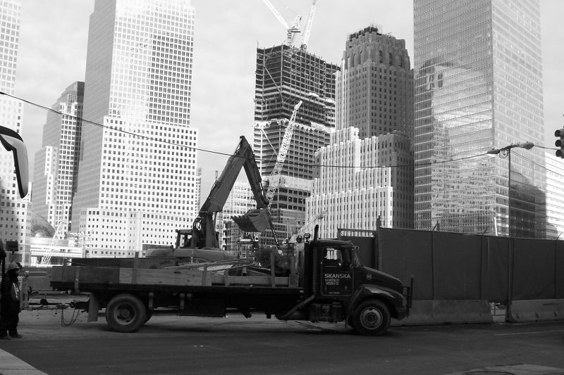 Groud Zero - New York (February 2008)