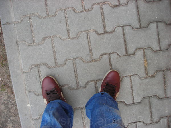 my shoes in visual sociology