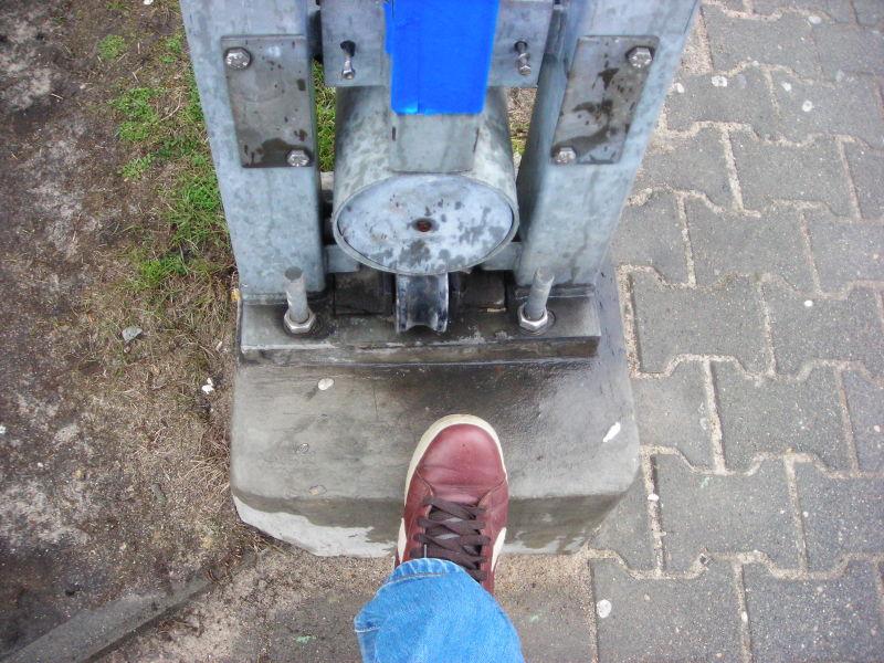 castorama w Poznaniu i jej brama