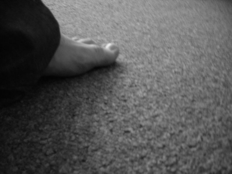 moja noga w Poznaniu