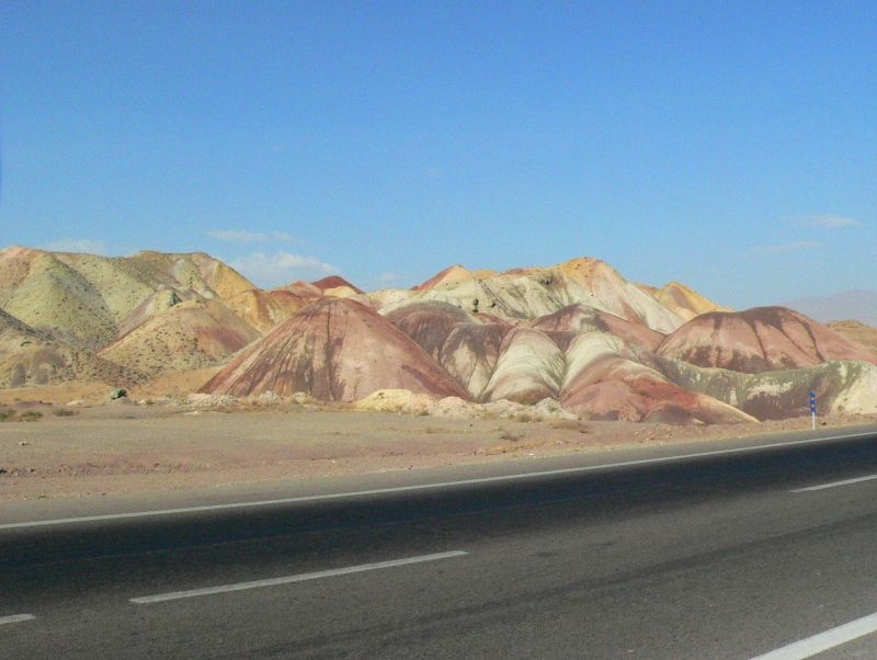 The colour blending Hills