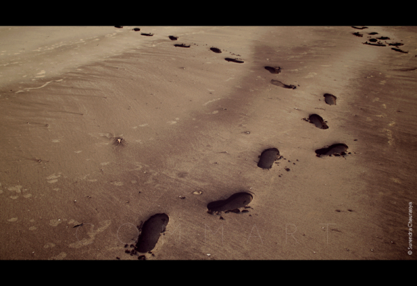 The footprints of time…