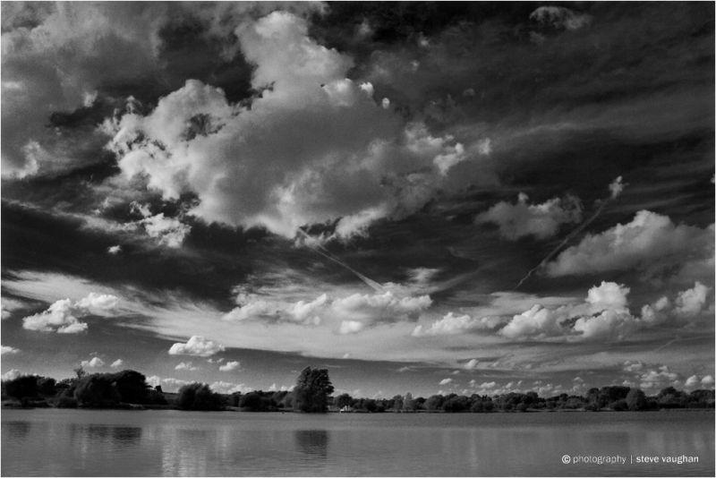 A brooding sky