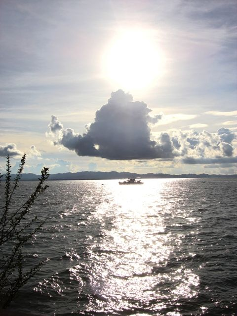 Sunsets over Celebes Sea