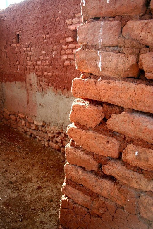 Brick walls in 1 of the ancient places