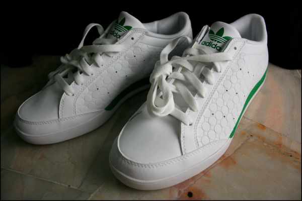 My first Adidas shoe...