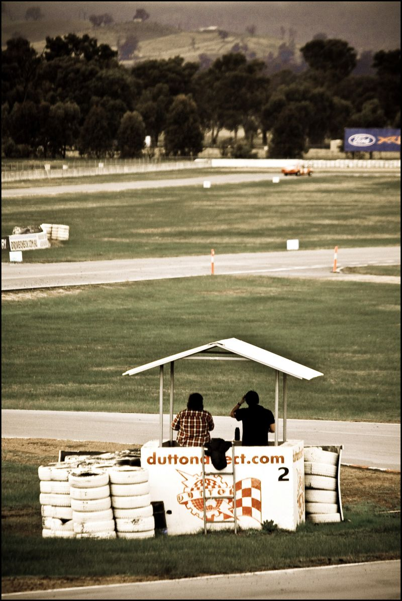A day out with the boys to Winton Racetrack