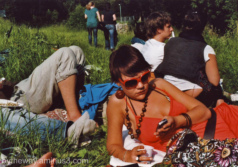 a students afternoon in the 70´s
