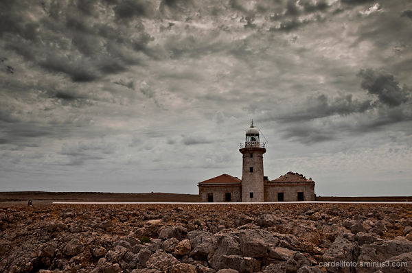 Nati lighthouse (Minorca)