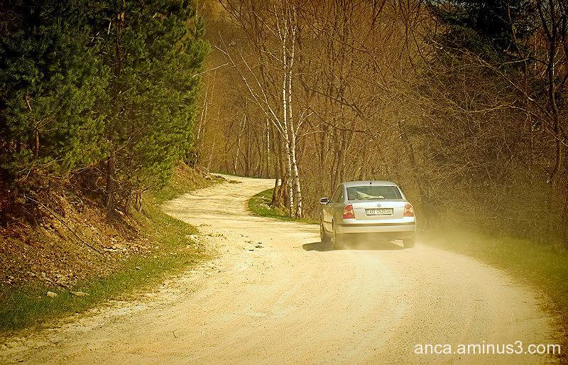 On mountain roads