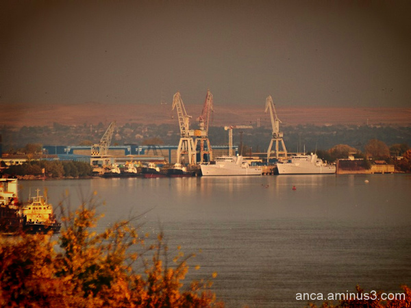 The port of Galati