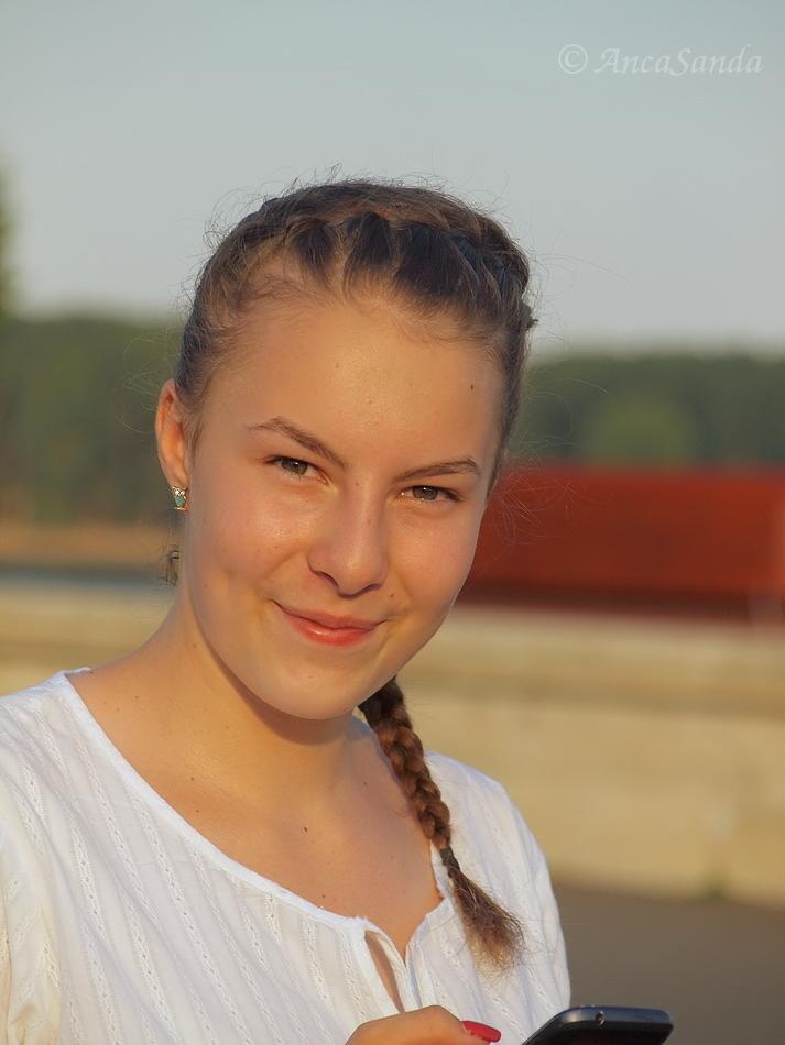 Fată frumoasă