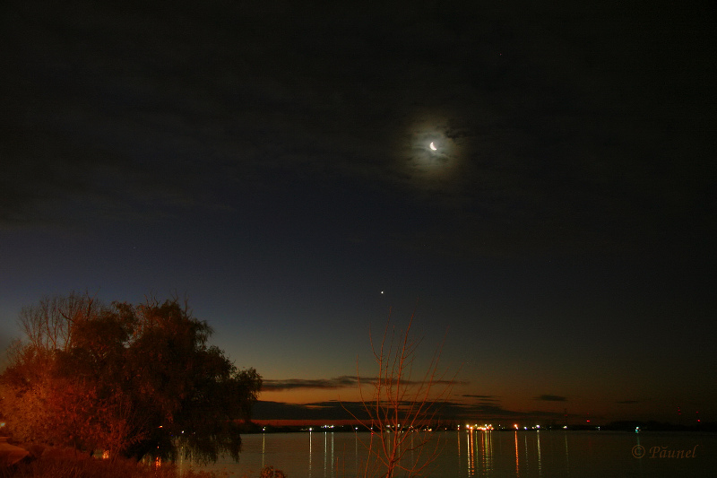 Night on Danube