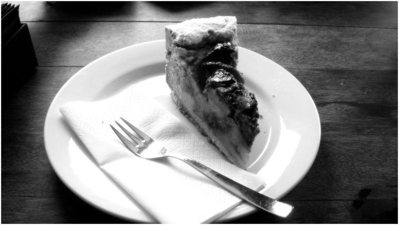 A piece of Pecan Pie