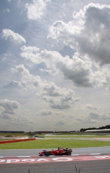 F1 Test day
