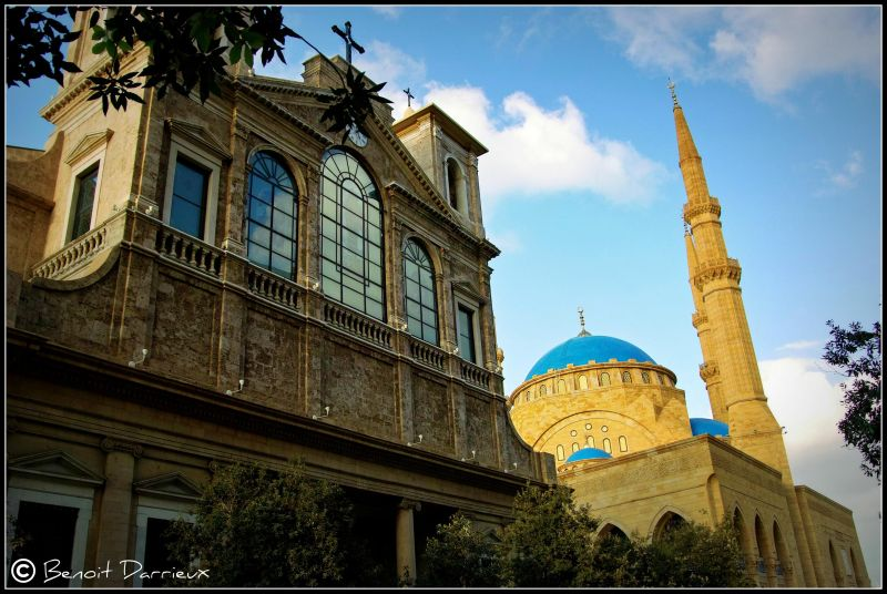Eglise mosquée Beyrouth