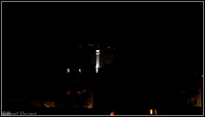 blanc minaret