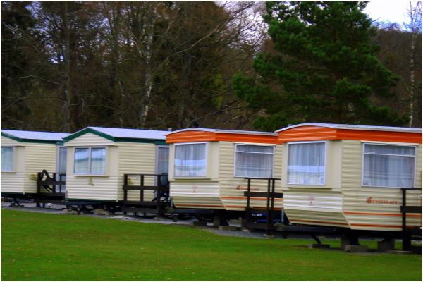Houses on wheels, Scotland