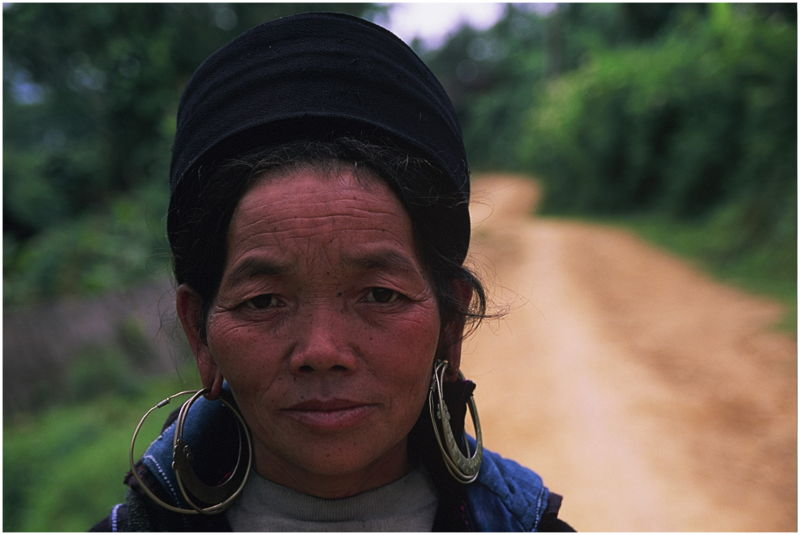 Mujer de la etnia H'Mong. Sapa. Vietnam