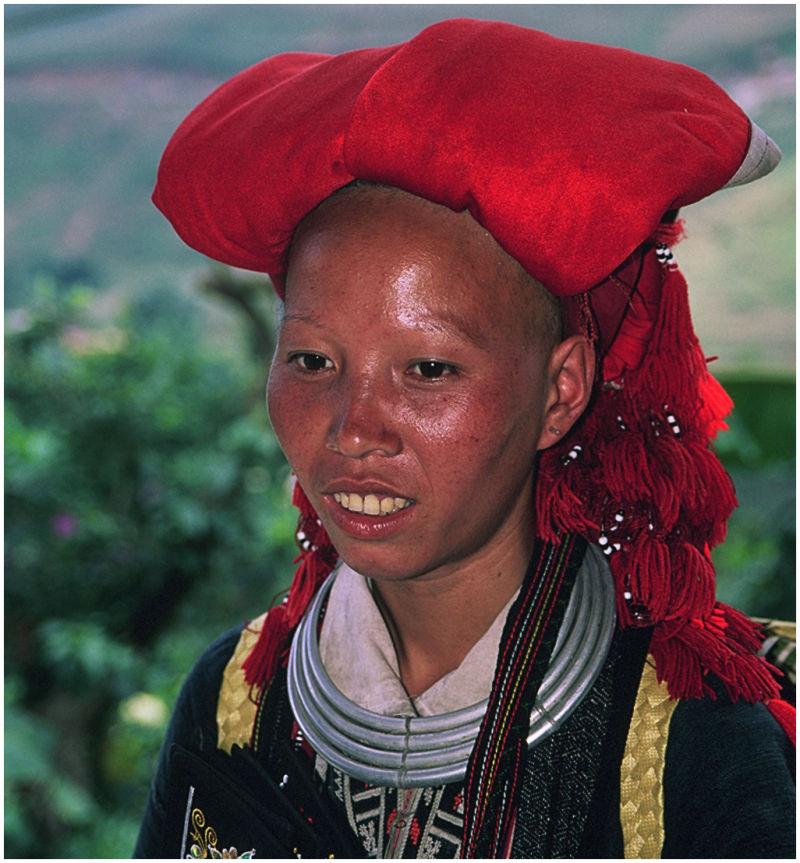 Mujer etnia Red Zao. Sapa. Vietnam