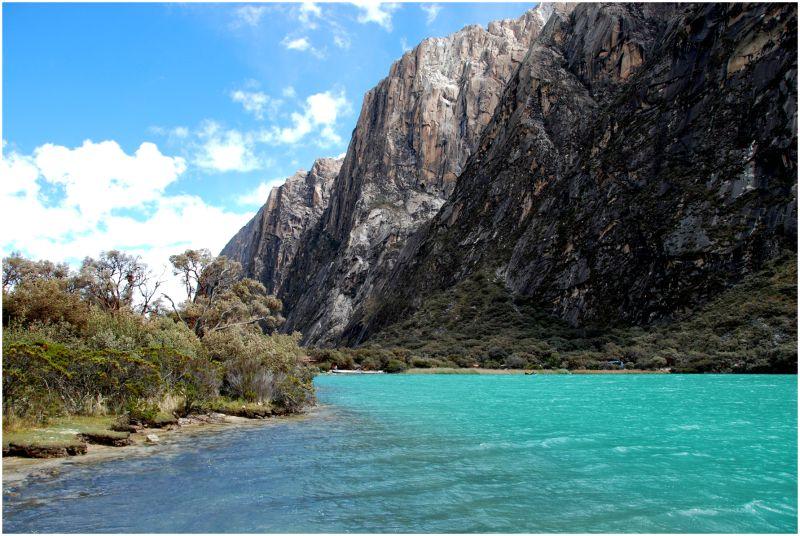 Laguna de Llanganuco. Perú '09